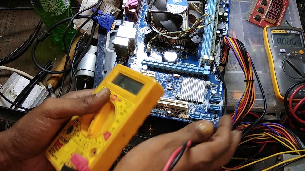 desktop board repair with error code FF FF #Model-Gigabyte ga- h61m ...