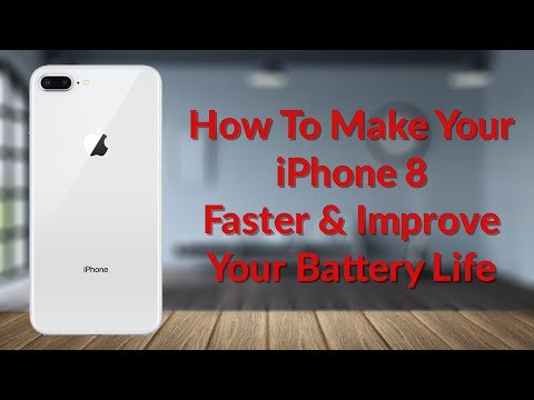 How To Make Your iPhone 8 Faster & Improve Your Battery Life - YouTube Tech Guy