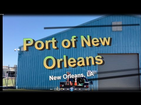 Port Of New Orleans Metal building