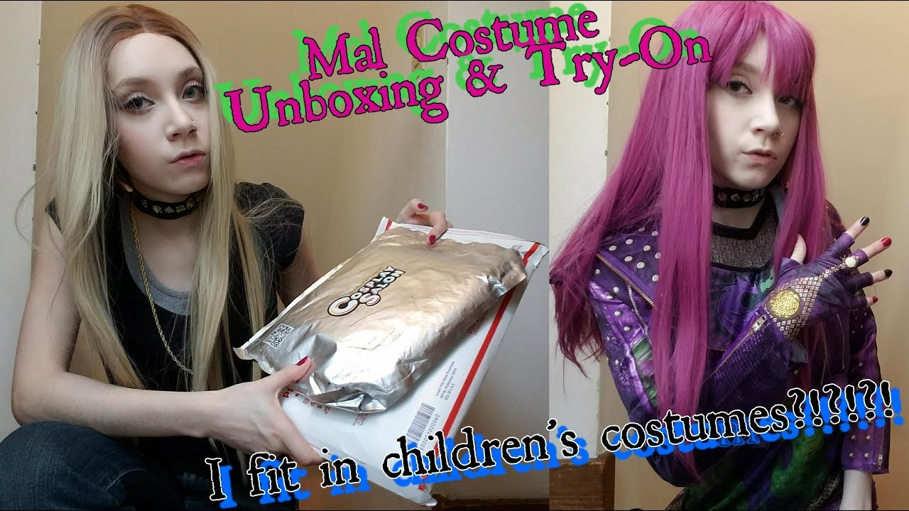 Mal [Descendants 2] Cosplay/Costume UnBoxing