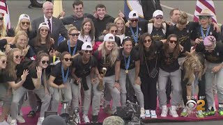 USWNT World Cup Parade: New York Readies To Celebrate U.S. Womens' National Team