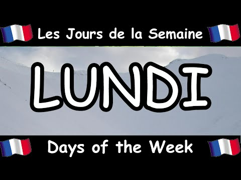 Learn French - Days of the Week Song - Les Jours de la Semaine