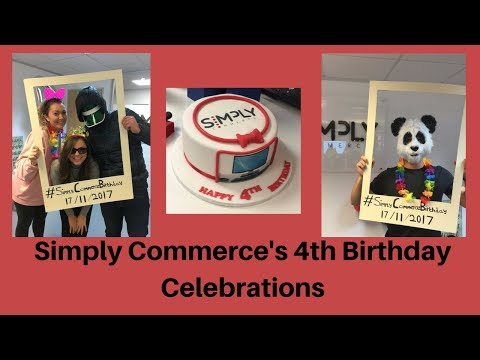 Simply Commerce Recruitment's 4th Birthday Celebrations