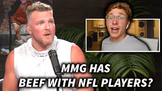 Pat McAfee & MMG Talk NFL Kickers, Madden, and YouTube Beefs