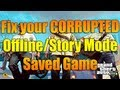 watch he video of Fix your Corrupted Offline/Story Mode Game | Grand Theft Auto 5