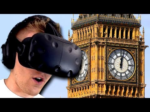 Disrespecting The UK In Real Life (Google Earth VR)