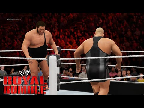 WWE 2K16 - 30 man-Royal Rumble  2016 Match Gameplay - Full Match| WWE 2K16 gameplay