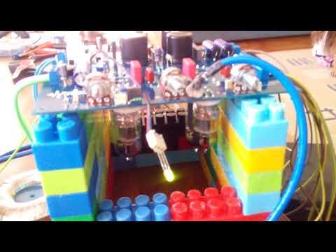 RS Tube Amp Mój pierwszy wzmacniacz lampowy.