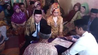Resepsi pernikahan Muhammad yasum dan mayasari@