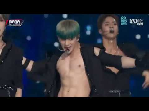 [2018MAMA] MONSTA X Full Performance (VCR+Spark+Jealousy+Shoot Out)