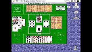 Apple Macintosh Longplay - Bridge Deluxe with Omar Sharif (1993) MacPlay