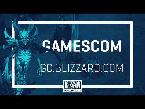Heroes of the Storm на gamescom 2018