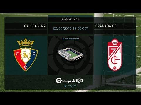 C.A. Osasuna - Granada CF MD24 D1800