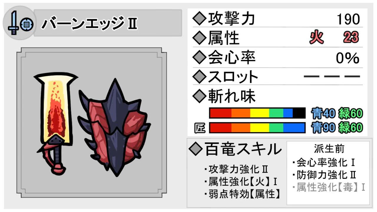 【MHRise】片手剣図鑑・全40種イラスト付き性能紹介【Ver.1.1.2】