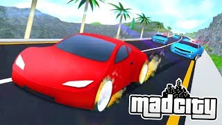 THE FASTEST CAR IN ROBLOX MAD CITY