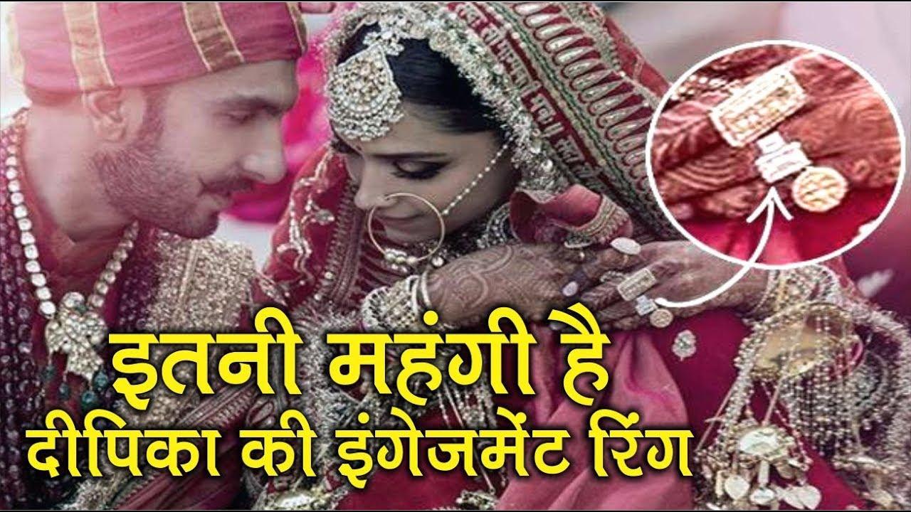 Hosh Uda Dengi Deepika Padukone Ki Engagement Ring Ki ...