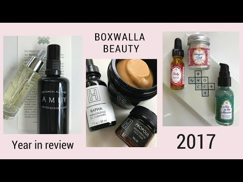 2017 Boxwalla Year in Review + December Box Review