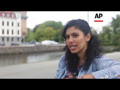 Egyptian refugees in Sweden struggle with new life