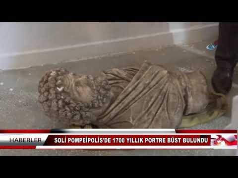 SOLİ POMPEİPOLİS'DE 1700 YILLIK PORTRE...