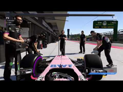 F1 2017 PS4 | Championship Mode with Esteban Ocon (Force India) | USA Grand Prix | Q3