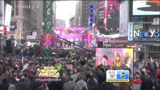 [LIVE HD] Taylor Swift - Welcome To New York @ GMA Good Morning America 301014