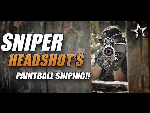 PAINTBALL SNIPER HEADSHOTS: Flanking the enemy with Deadly accuracy