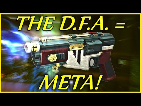 The D.F.A. Hand Cannon Is The New Meta! (Destiny 2 - Pre-Forsaken)