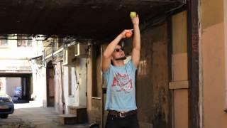 #26. Статуя свободы (видео уроки по жонглированию от ПГ)
