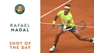 Shot of the Day #13 - Rafael Nadal | Roland-Garros 2019