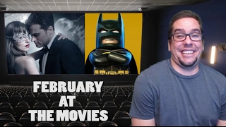 The LEGO Bat and Bondage to Rule February - This Month at the Movies