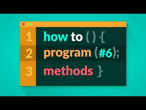 How to Program in C# - Methods (E06)