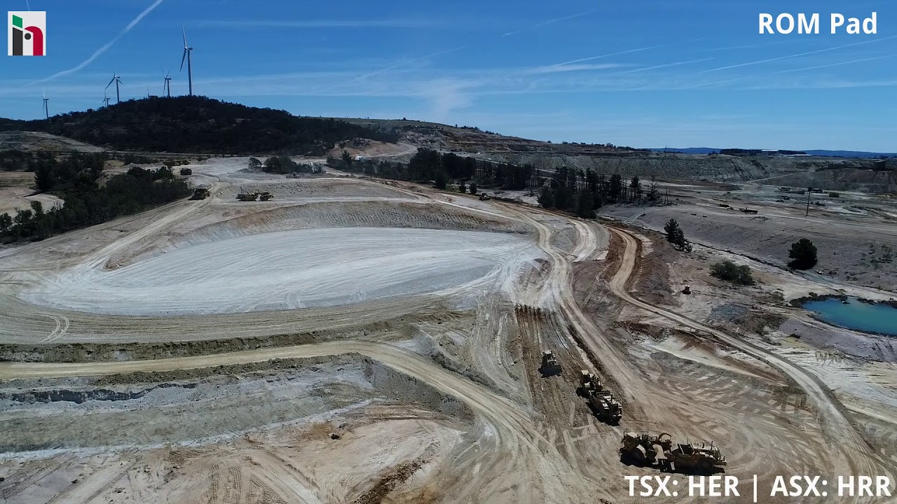 Woodlawn Mine Site Construction, January 2018