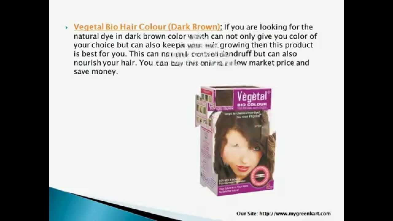 Vegetal Bio Hair Colour Youtube