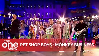 Pet Shop Boys - Monkey Business (Live on The One Show)