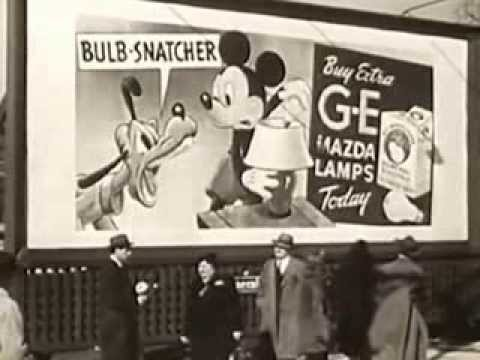 Advertising Billboards_ To Market, To Market - 1942 Educational Film