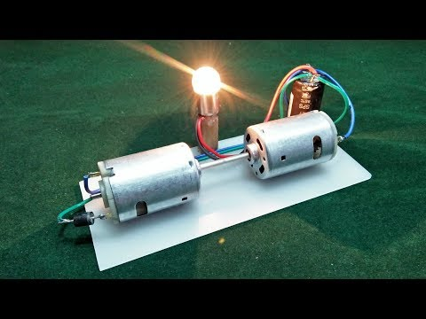 How To Make Generator Free Energy With Dc Motor 200% Free