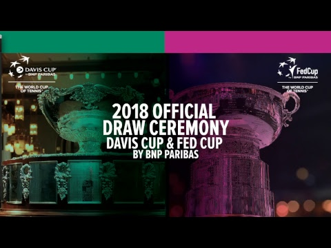The 2018 Davis Cup and Fed Cup Draws