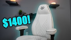 How Good is the Most Expensive Gaming Chair?! | LF Gaming Stealth Review