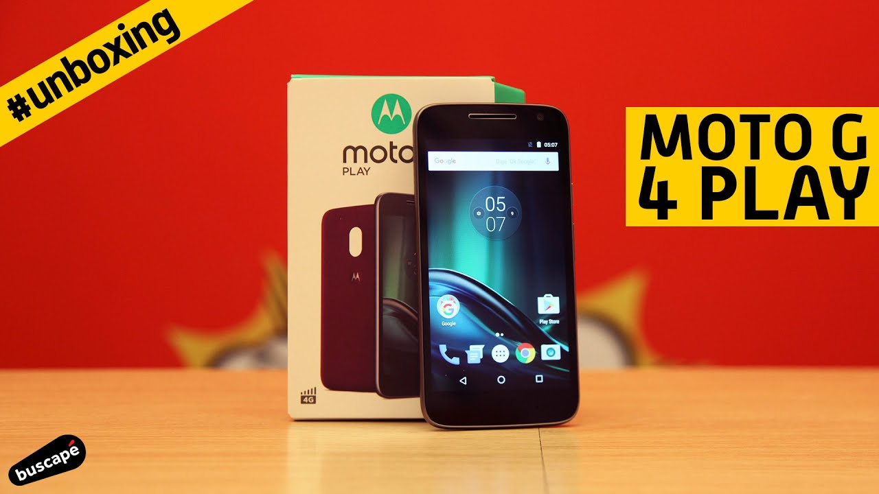 ab3b6d86f Unboxing do Moto G 4 Play - YouTube