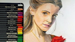 Beauty and the Beast 2017 Drawing Emma Watson as Belle