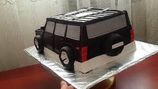 Торт машинка Джип