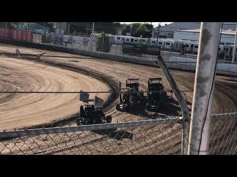 Delta Speedway 9/1/19 Jr Sprint Heat 1A- Cash