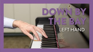 Down by the Bay - Left Hand - Piano Lesson 208 - Hoffman Academy