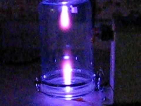 Vacuum Jar Implosion / High Voltage Plasma Experiment