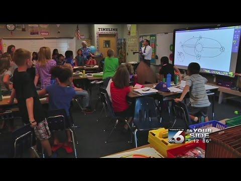 Scott Dorval's visit to Peregrine Elementary School in Meridian