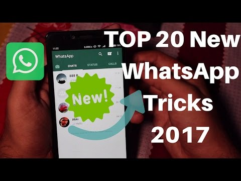 20 Cool New WhatsApp Tricks You Should Try in 2017