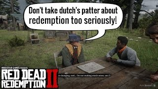 Hosea thinks the Gang is Doomed   Red Dead Redemption 2 Video