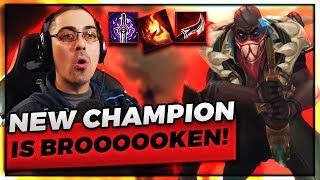 TRICK2G PLAYS NEW CHAMPION PYKE TOPLANE!!! BETTER NERF ASAP - Trick2G