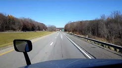 Bigrigtravels Live! - Harmony, Pennsylvania to West Henrietta, New York -  November 18, 2016