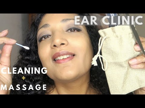 Deep ASMR ear cleaning & massage clinic Roleplay Annual ear exam Dr French